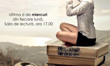 Miercuri: Cultură și lectură la Clubul de lectură Lectur Alba