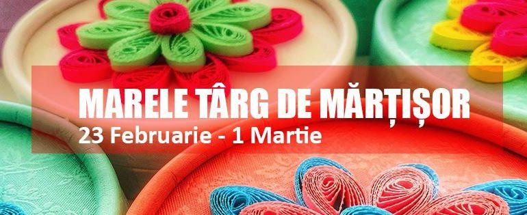 23 februarie – 1 martie: Târg de Mărțișoare la Alba Mall