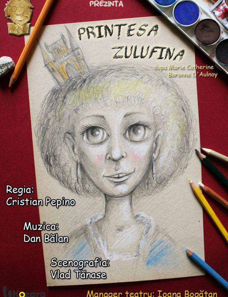 """Miercuri: Spectacolul """"Prințesa Zulufina"""", pe scena Casei de Cultură a Studenților Alba Iulia"""