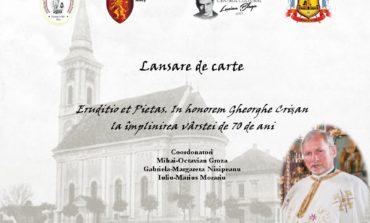 """Marți: """"Părintele sufletesc"""" al Sebeșului, Gheorghe Crișan, omagiat printr-o lansare de carte"""