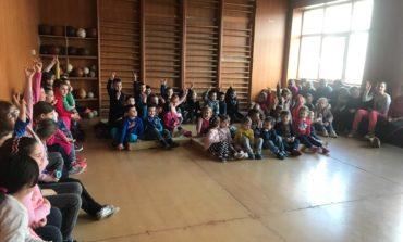 """FOTO: Proiectul național """"Școala siguranței Tedi"""", în județul Alba"""