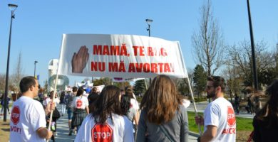 FOTO: Marșul pentru Viață, în Cetatea Alba Iuliei