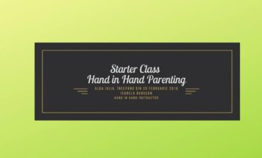 20 martie: Starter Class- Hand in hand parenting