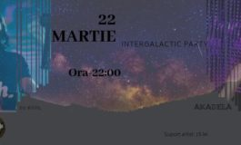 VINERI 22 martie: Intergalactic Party