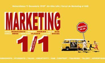 """28-29 martie: """"Marketing one on one"""", workshop-uri și training-uri pentru elevi și studenți la UAB"""