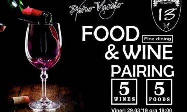 Vineri: FOOD & WINE Pairing, la Pub 13 din Alba Iulia