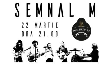 22 martie: Concert extraordinar susținut de Semnal M la Pub Skit`77 din Alba Iulia
