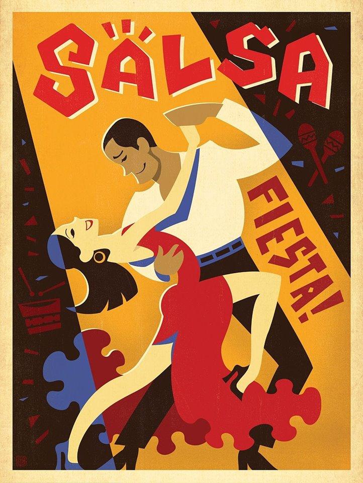 Joi: Salsa Party la Cezch In La Vizitiu