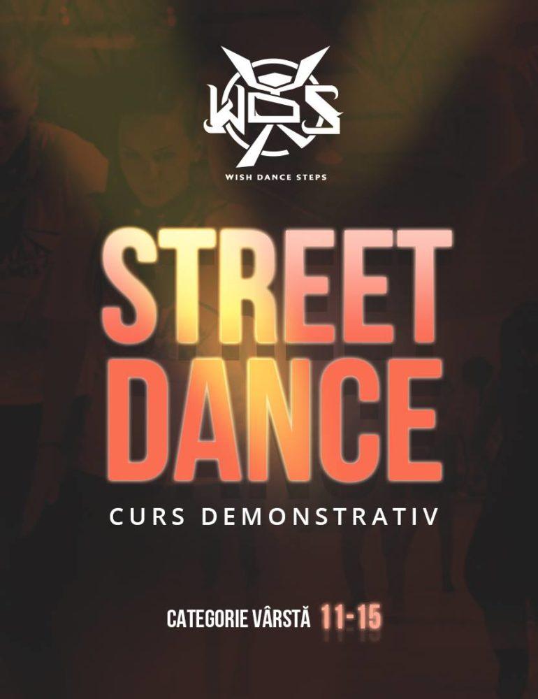 20 martie: Street dance- Curs demo