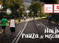 """Alba Iulia a fost înscrisă în competiția """"Hai în pauza de mișcare"""". Cum poți susține orașul?"""