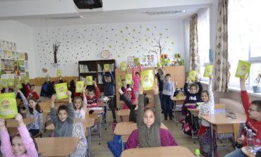 """FOTO: """"Școala siguranței Tedi"""" a ajuns la elevii Școlii Gimnaziale """"Ion Agârbiceanu"""" din Alba Iulia"""
