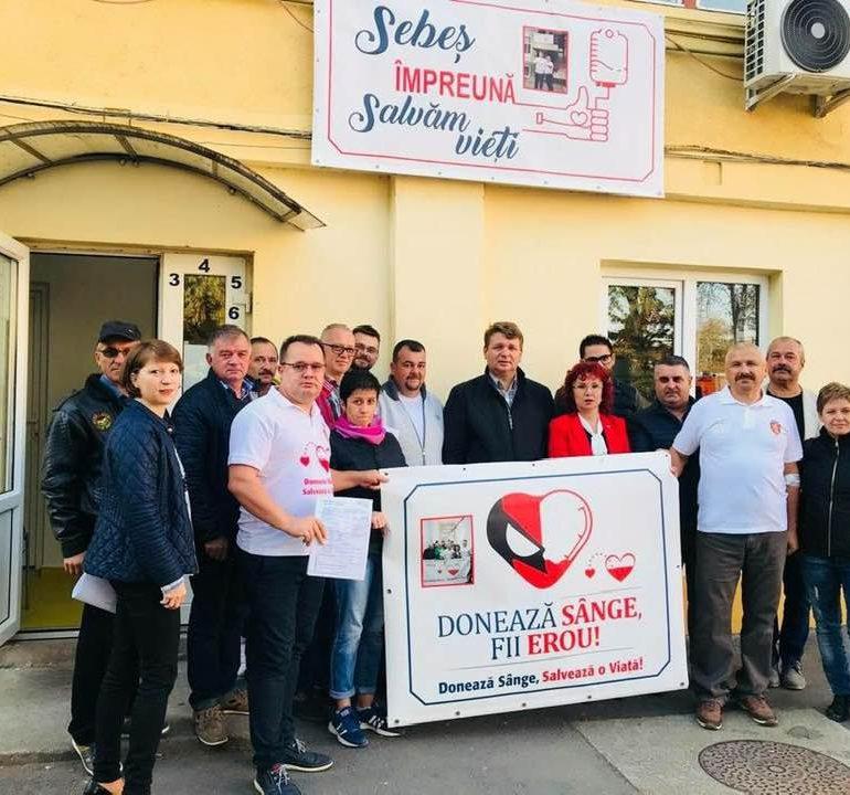 Miercuri: O nouă campanie de donare de sânge la Spitalul Municipal Sebeș