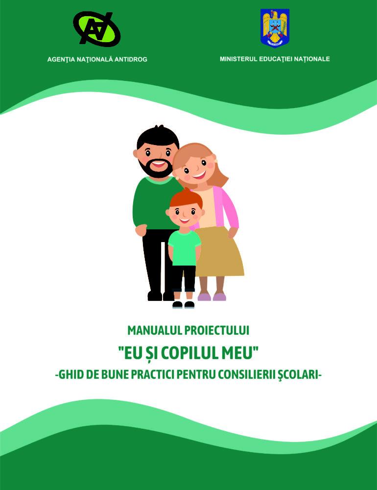 """""""Eu și copilul meu"""" – formare familială de abilităţi educative privind prevenirea consumului de tutun, alcool şi droguri"""