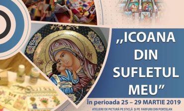 """26-29 martie: """"Icoana din sufletul meu"""" - ateliere de pictură, expoziție și momente artistice la Alba Iulia"""