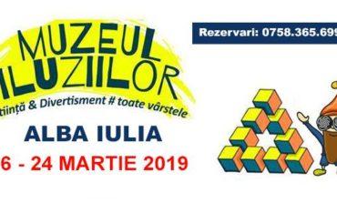 16- 24 martie: Muzeul Iluziilor pentru prima dată la Alba Iulia