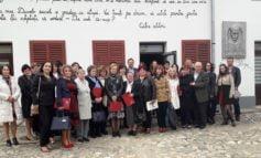 """FOTO: Ziua Bibliotecarilor din România a fost sărbătorită la Casa Memorială ,,Lucian Blaga"""" din Lancrăm"""