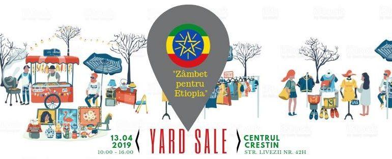 """13 aprilie: Yard Sale – Proiectul """"Zâmbet pentru Etiopia"""", la Alba Iulia"""