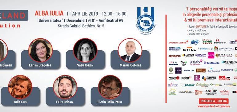 ASTĂZI: Conferințele BookLand Evolution revin la Alba Iulia