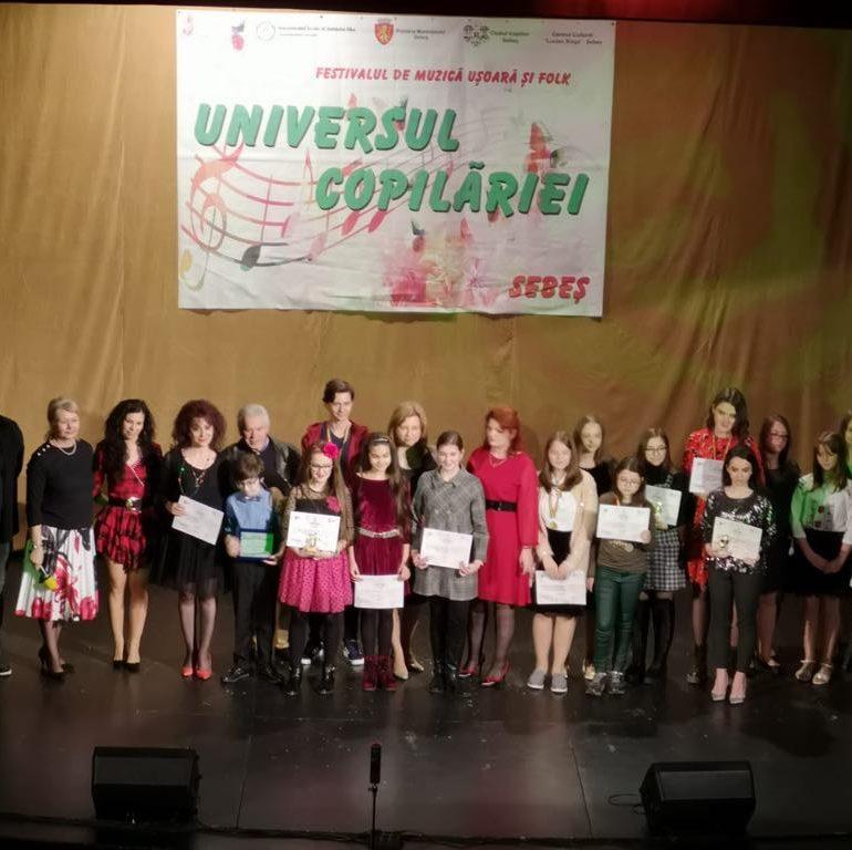 """FOTO: Câștigătorii celei de-a V-a ediții a Festivalului de Muzică Ușoară și Folk """"Universul Copilăriei"""""""