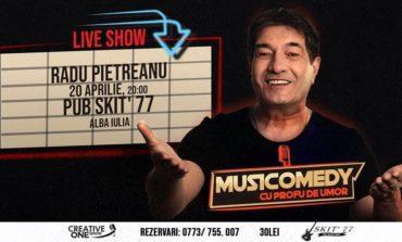 20 aprilie: Musicomedy cu Profu' de Umor - Radu Pietreanu la Pub Skit' 77