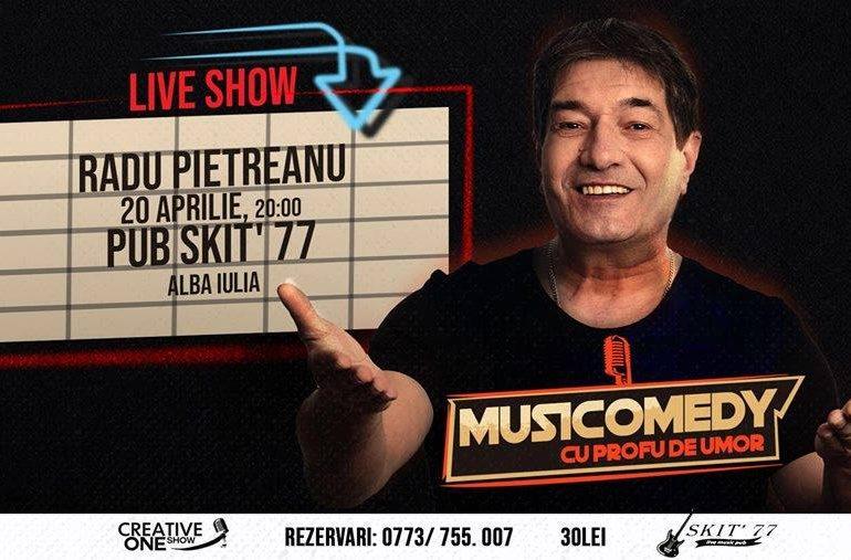 20 aprilie: Musicomedy cu Profu' de Umor – Radu Pietreanu la Pub Skit' 77