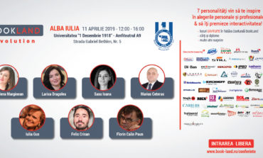 11 Aprilie: Conferințele BookLand Evolution ajung la Alba Iulia