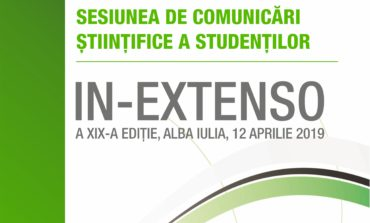 Vineri: A XIX-a ediţie a sesiunii anuale de comunicări ştiinţifice a studenţilor In Extenso (Științe Exacte și Inginerești), la UAB