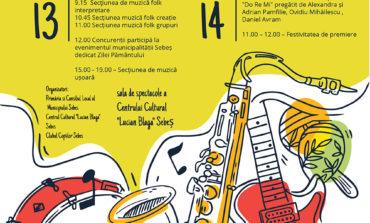 """13-14 aprilie: Sebeșul va găzdui cea de-a V-a ediție a Festivalului de Muzică Ușoară și Folk """"Universul Copilăriei"""""""