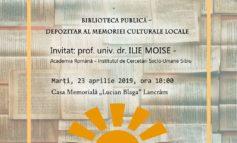 """23 aprilie: Ziua Bibliotecarilor din România sărbătorită printr-o reuniune științifică la Casa Memorială ,,Lucian Blaga"""" din Lancrăm"""