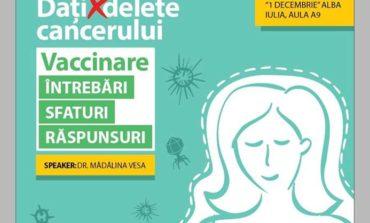 """Miercuri: Seminar interactiv """"Rolul și importanța vaccinării"""", la Alba Iulia"""