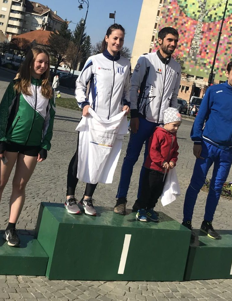 FOTO: Ionuț Zincă, sportiv legitimat la CS Unirea Alba Iulia, victorii pe linie la primele competiții oficiale din sezonul de orientare în alergare