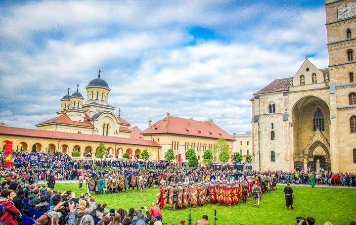 Festivalul Roman Apulum 2019 de la Alba Iulia: Trupele de reenactment invitate la eveniment