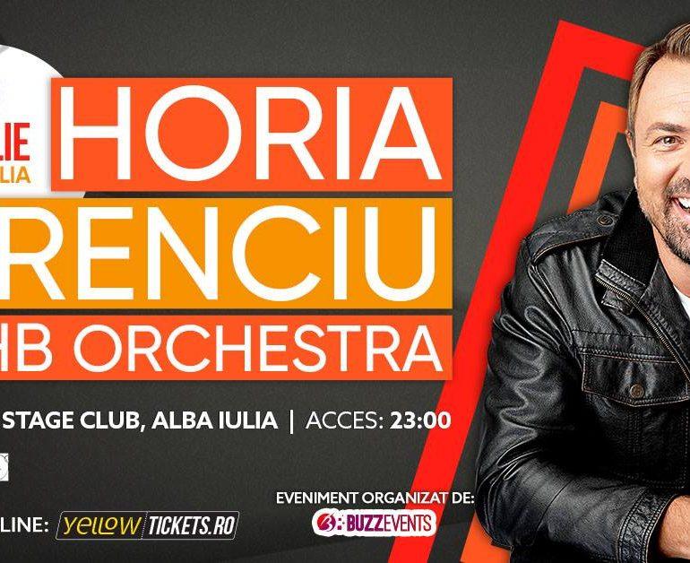 SÂMBĂTĂ 13 aprile- Concert Horia Brenciu & HB Orchestra