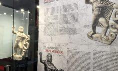 FOTO-VIDEO: Statueta lui Iupiter Zbelsurdos, enigmaticul zeu trac al fulgerelor, exponatul lunii aprilie la Muzeul Unirii