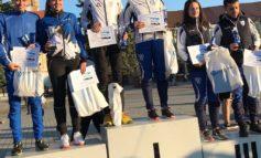 FOTO: Ionuț Zincă și Bogya Tamas, de la CS Unirea Alba Iulia, aur și argint la Campionatul Național de Semimaraton