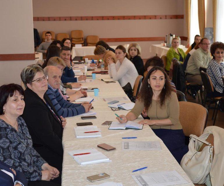 FOTO: Curs de pregătire pentru secretarii comunelor din județul Alba