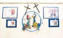 """FOTO-VIDEO: """"...despre marionete care au mici secrete!"""", expoziție vernisată în cadrul Festivalului Internațional de Teatru """"Povești"""""""