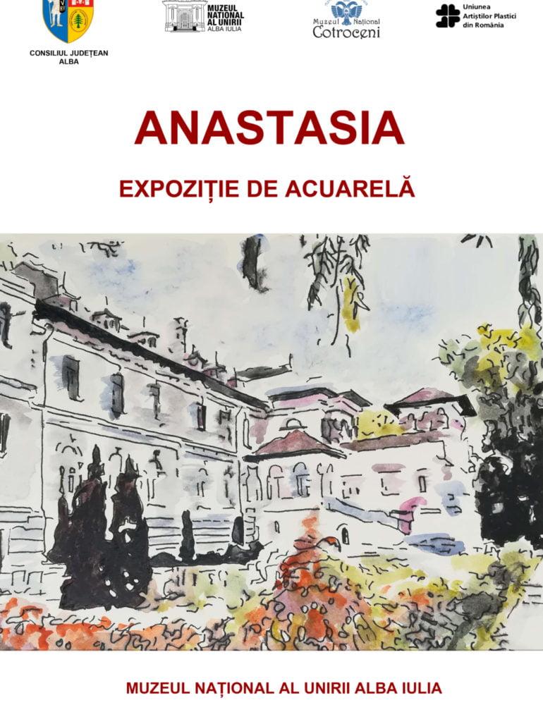 """22 mai – 14 iunie: Expoziția de pictură """"Anastasia"""", la Muzeul Național al Unirii din Alba Iulia"""