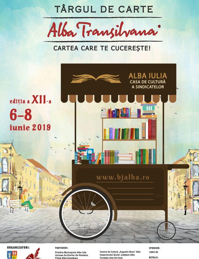 Ionuț Fulea și Avram Iancu prezenți în Târgul de Carte Alba Transilvana, la evenimentele pentru copii și adolescenți