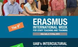 """6-10 mai: Săptămâna Erasmus și a studenților internaționali, la Universitatea """"1 Decembrie 1918"""" Alba Iulia"""