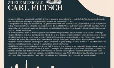 """30 mai - 2 iunie: Zilele muzicale """"Carl Filtsch"""" la Sebeș"""
