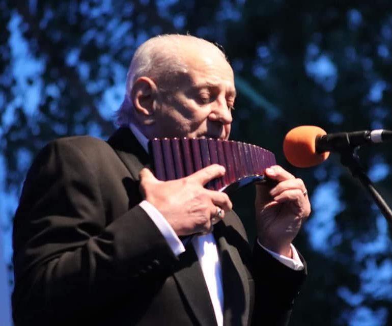 """FOTO: Festivalul Internațional """"Lucian Blaga"""" Sebeș. Concert extraordinar Gheorghe Zamfir"""