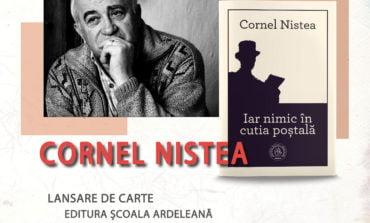 Cea mai recenta carte semnată de prozatorul Cornel Nistea lansată la Târgul de Carte Alba Transilvana