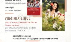 Virginia Linul, cea mai cunoscută creatoare de costume populare din țară, lansează prima sa carte la Târgul de Carte Alba Transilvana
