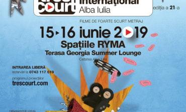 15-16 IUNIE: Festivalul Internațional de Foarte Scurt Metraj TRES COURT ajunge la Alba Iulia
