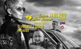 VINERI 14 iunie- DJ Project & Giulia cântă la Mira Summer