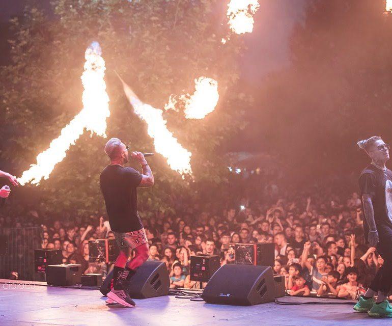 FOTO: Distracție la cote maxime la Alba Fest 2019. Cum a arătat prima seară