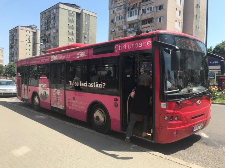 Programul de circulație al STP SA pentru Rusalii, în Zona Metropolitană Alba Iulia