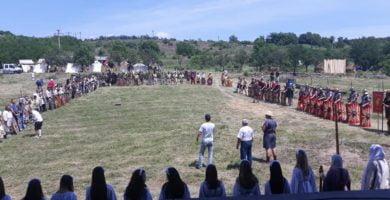 FOTO: Lupte între daci şi romani, tabere, concerte în aer liber și concursuri la Festivalul Cetăților Dacice de la Cricău
