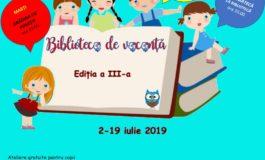 1-19 iulie: O nouă ediție a Bibliotecii de Vacanță, la Sebeș